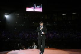 Puigdemont avisa de que el 1-O se votará y se «pondrá luz a la oscuridad»