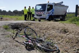 Fallece un ciclista de 65 años al sufrir un accidente contra un camión en Inca