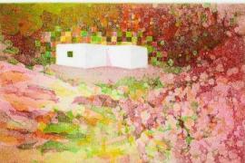 La luz de Ibiza impregna las obras de Jakub Honetschläger en Can Tixedó