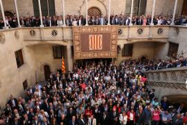 Puigdemont: «Que no subestimen la fuerza del pueblo de Cataluña»
