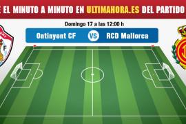 Ontinyent-Real Mallorca en directo