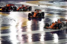Fernando Alonso abandona en el Gran Premio de Singapur