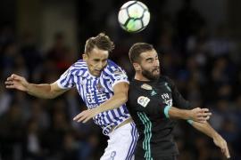 Mayoral y Bale enderezan el rumbo del Real Madrid