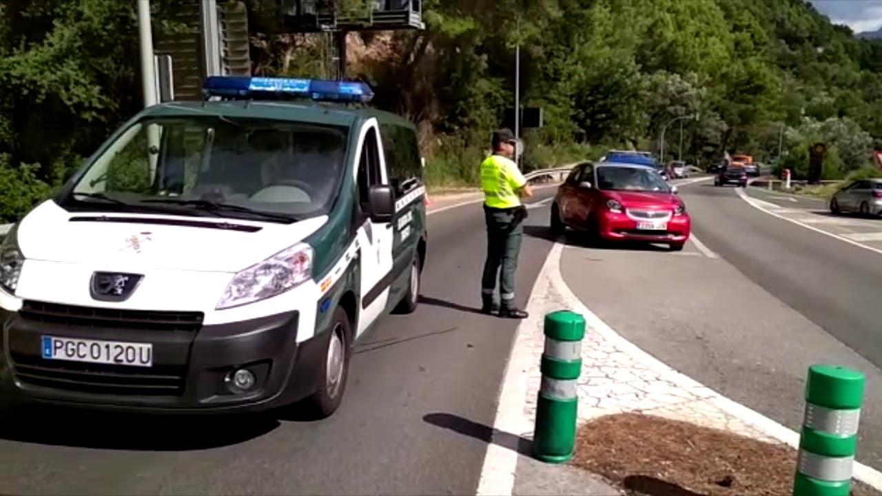 Restricciones de tráfico en el túnel de Sóller por la avería de un autobús