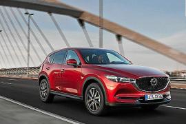 El nuevo Mazda CX-5 logra 5 estrellas en las pruebas de Euro NCAP