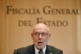 El fiscal general aporta la figura canónica de la 'abducción', creada en el concilio de Trento, para distinguir entre catalanes malos y recuperables