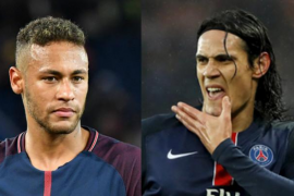 Neymar y Cavani, a punto de llegar a las manos en el vestuario del PSG