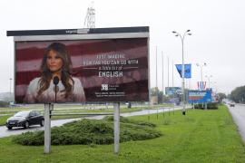 Los carteles publicitarios que indignan a Melania Trump