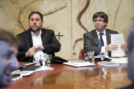 Junqueras considera que los tribunales han suspendido la intervención de las cuentas de la Generalitat