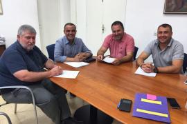 El Consell cooperará con Felanitx, Fornalutx y Sant Joan para mejorar sus redes de agua
