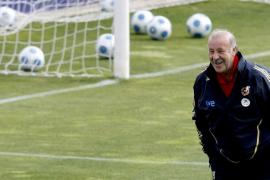 Del Bosque, a una victoria de Luis Aragonés