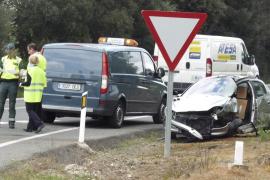 Una conductora de 84 años muere en un accidente en la vía Inca-Sineu