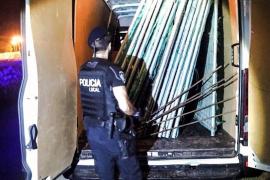 Detenido en Palma por robar material de construcción para fabricar jaulas para gallos de pelea