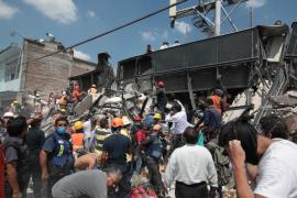 Ascienden a más de 230 los muertos por el fuerte terremoto que ha sacudido México