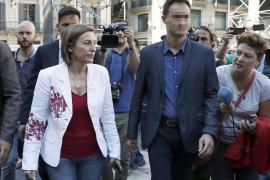 Forcadell acusa al Estado de «enterrar» la política y abrirse a la «represión»