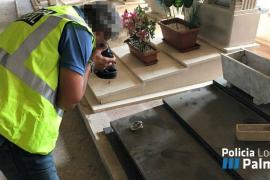 Detenidas dos personas por hurtar y generar daños por valor de 18.000 euros en el cementerio de Palma