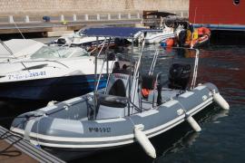 Dos embarcaciones para reforzar la  vigilancia marina en Ibiza y Formentera (Fotos: Marcelo Sastre).