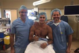 El gimnasta Adrià Vera estará 6 meses de baja tras ser operado de su rodilla derecha