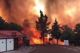 Cientos de evacuados por un incendio en Gran Canaria y 1.000 hectáreas quemadas