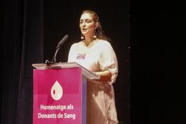 La Fundación Banco de Sangre y Tejidos homenajea a los donantes de Ibiza en Cas Serres