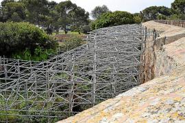 El Castell de Bellver, en riesgo