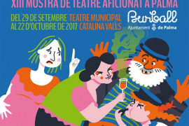 El Teatre Catalina Valls acoge la muestra teatral Burball 2017