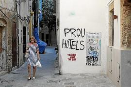 El Pacte de Cort rechaza la propuesta del PP para condenar las pintadas contra el turismo