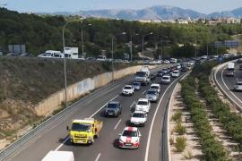 Grave accidente en el interior del túnel de Génova