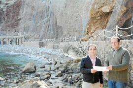 Costas no ejecutará ni el espigón ni la regeneración de la playa de Cala Estellencs