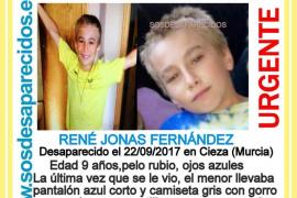 Localizado en buen estado el niño de 9 años desaparecido este viernes en Cieza