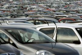 Cae un 48% en marzo la matriculación de vehículos en Baleares
