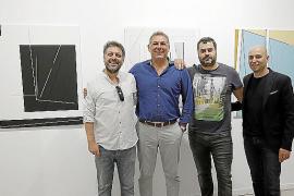 'Línea', pintura 'a seis manos', la apuesta de Pep Llabrés Contemporani