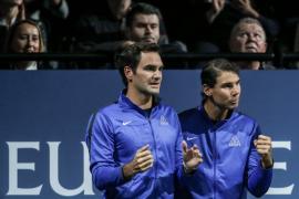 Nadal y Federer jugarán juntos en la Copa Laver su primer partido de dobles
