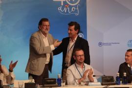 Rajoy se muestra convencido de que el PP y Company gobernarán Baleares en 2019