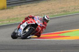 Lorenzo saldrá segundo en el Gran Premio de Aragón, por detrás de Viñales