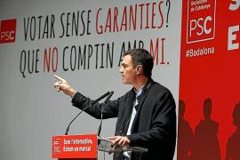 Sánchez:«Obligaré a Rajoy a buscar una solución pactada para Catalunya»