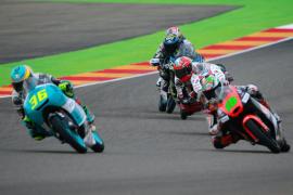 Joan Mir gana en Aragón y se acerca al título de Moto3