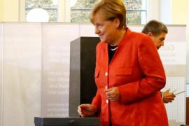 Merkel gana las elecciones alemanas según los sondeos