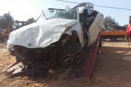 Un conductor de 30 años fallece en Fomentera tras salirse de la vía y empotrarse con un muro