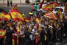 La Policía investiga la agresión a la presidenta de las Cortes de Aragón para localizar a su autor