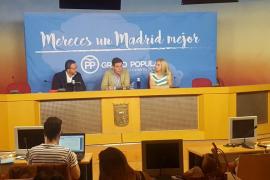 El PP de Madrid propone «juras de bandera» el Día de la Hispanidad como «tributo» a la Constitución