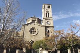 Tres detenidos por robar un tambor y una trompeta en la iglesia de Sant Magí de Palma