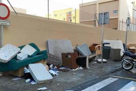 Las quejas recibidas por el sistema de recogida de trastos en Palma se duplican