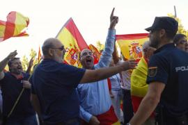Llaman a concentrarse con banderas españolas en un acto de la CUP en Palma