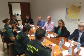 Guardia Civil y Policía Local hacen un balance «muy positivo» de la seguridad en Llucmajor durante el verano