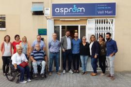 Noguera visita Asprom y Amadib dentro de su ronda de contactos con el Tercer Sector