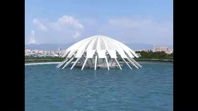 Así sería la ópera de Palma encargada por Matas a Calatrava