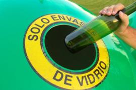 Aumentan en 5 años un 42 % las toneladas de vidrio recicladas en Baleares