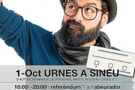 Sineu también quiere votar el 1 de octubre