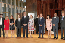 Los Reyes inauguran el Palau de Congressos